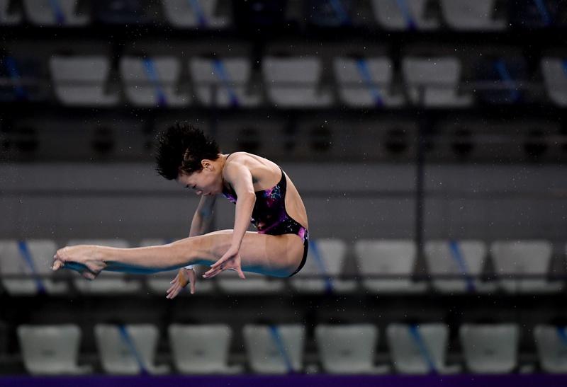 跳水   男板女台冠军都属新人 东京奥运名额不好选