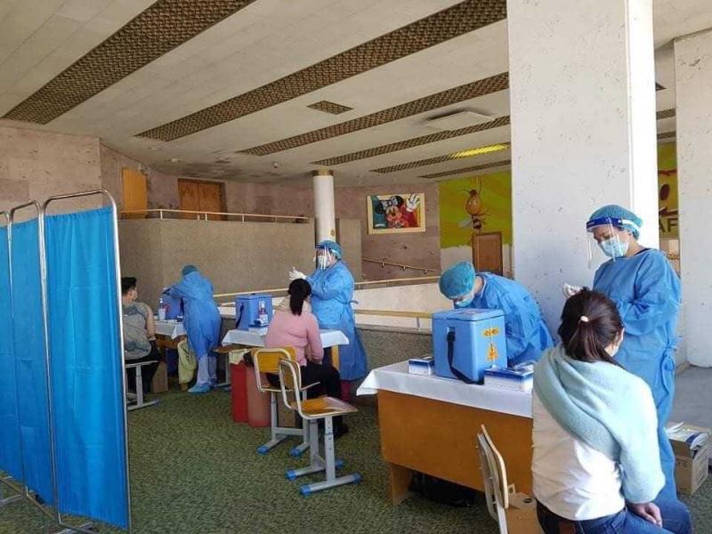 蒙古国近半数民众完成至少一剂新冠疫苗接种