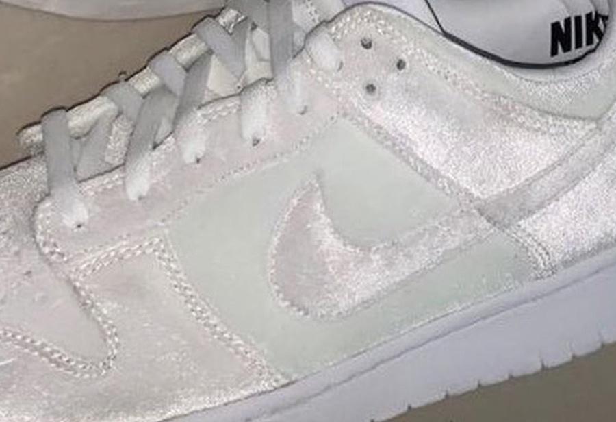 少见天鹅绒材质!DSM x Nike Dunk Low 实物曝光!