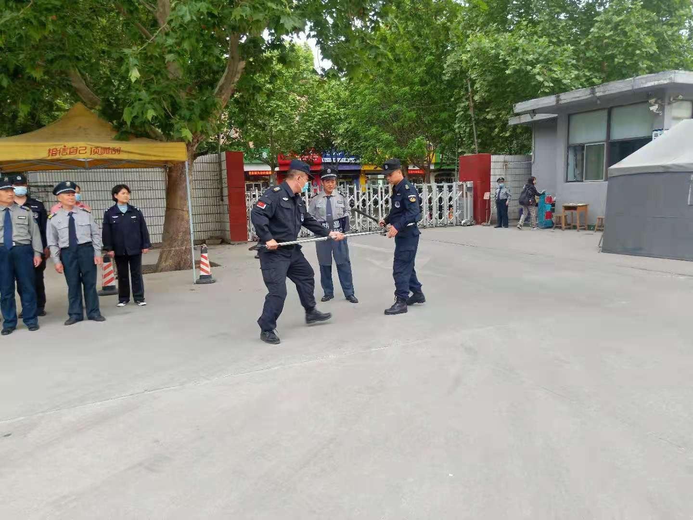 市体校举行安保人员防恐安全培训