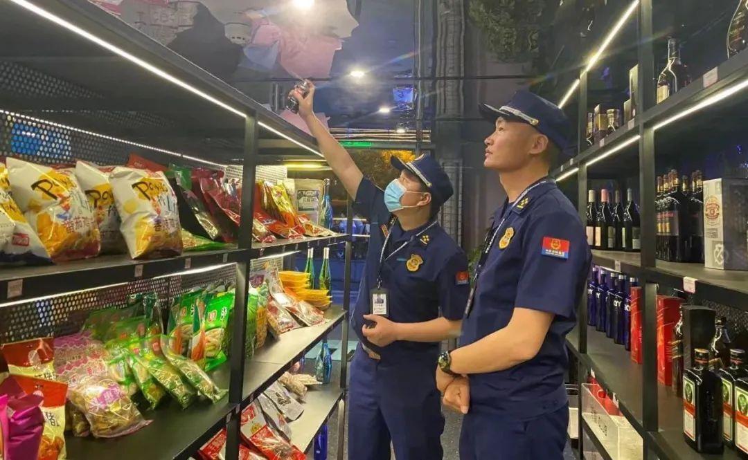 集中夜查除隐患 | 漯河消防全力为第十九届中国(漯河)食品博览会保驾护航