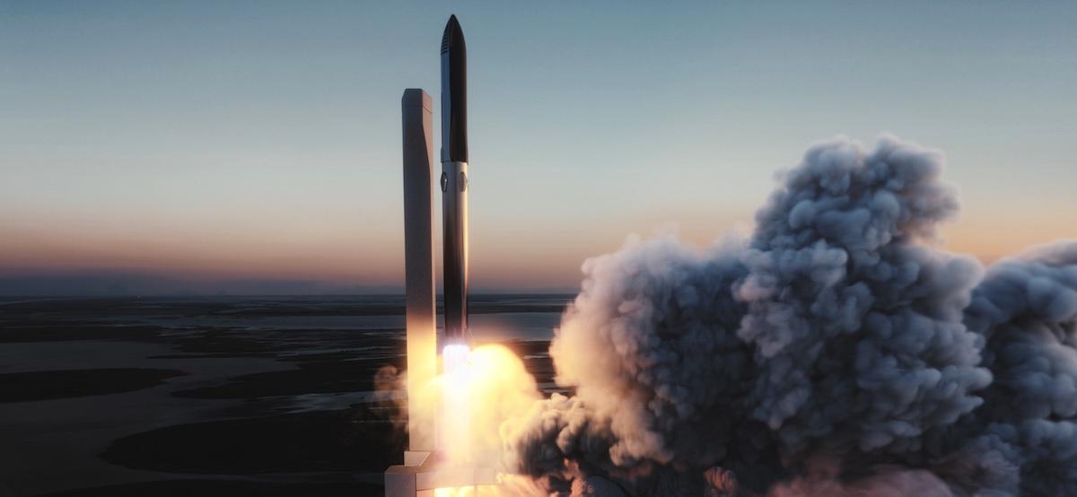 离火星更近一步!SpaceX即将尝试轨道级试飞