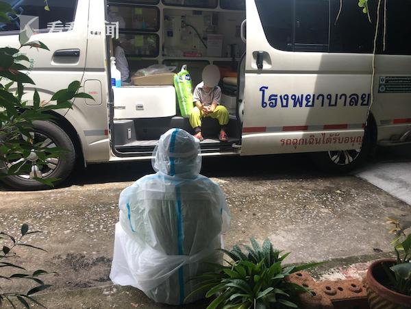 泰国3岁新冠患者独自提尿不湿入院