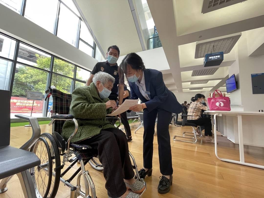 办事暖心群众舒心 重庆市璧山区行政服务中心精细推进特殊群体政务服务