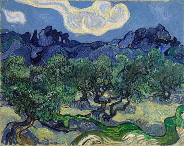 """那些曳动不安的梵高""""橄榄树"""",将首次集结展出"""