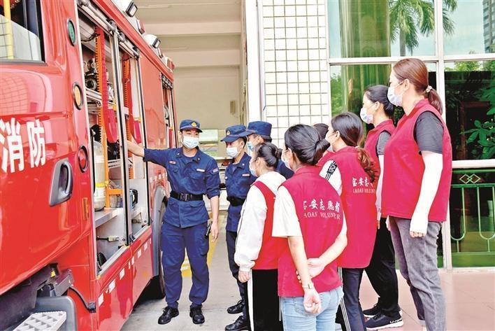 宝安区消防志愿者服务发展合作协议正式签署