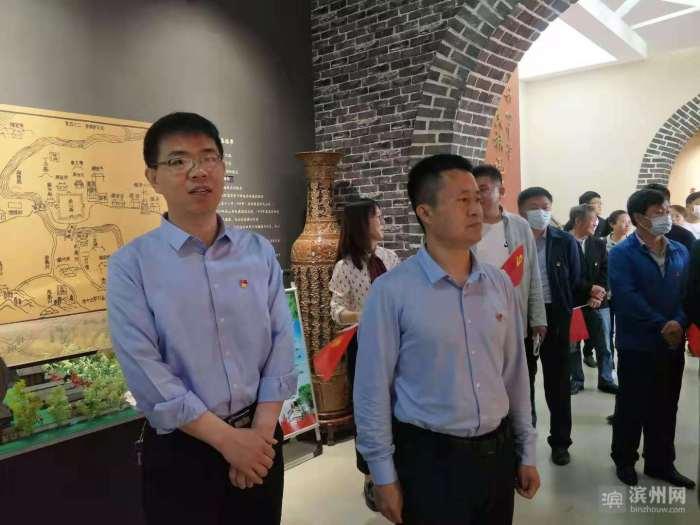 邹平市魏桥实验学校:引领党员走进教育基地接受红色洗礼