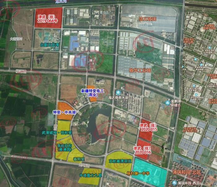 龙湖、金科、雍鑫以17.072亿联合买获武清新城商住地块