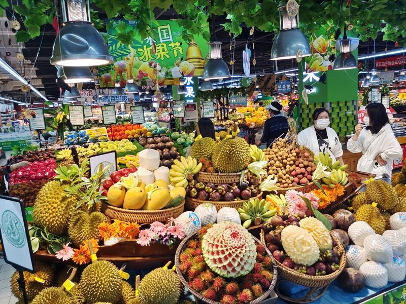助力消费季 家乐福泰国水果节开幕