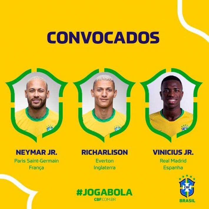 巴西新一期大名单:内马尔领衔,阿尔维斯入选