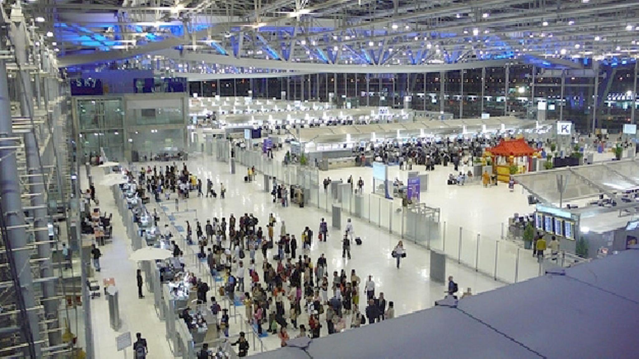 泰国素万那普国际机场出现105例新冠肺炎确诊病例