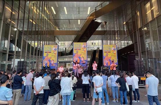 让企业员工享受文化艺术盛宴!龙岗城投园区首届公共文化艺术月开幕