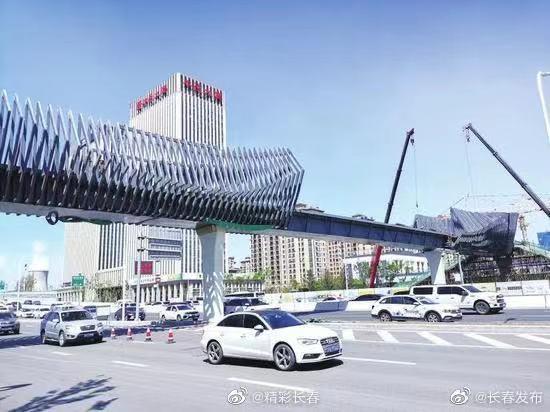 今日热榜丨长春有座最美过街天桥,央视报道组沿着高速看吉林