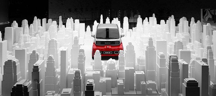 上汽通用五菱启动UDI战略,并与阿里巴巴联合发布了一款联名概念车