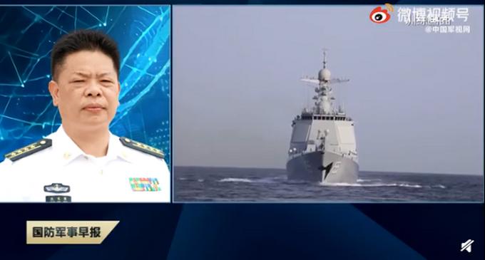 中国海军第38批护航编队启航