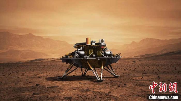"""这顶""""降落伞""""如何护天问一号着陆火星?"""