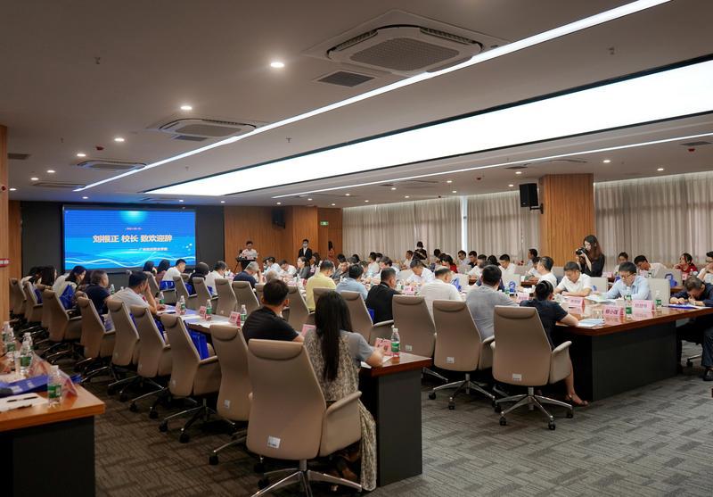 第22届广东省校企合作高峰论坛在松田职院举行