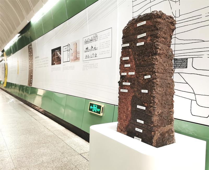 坐地铁看考古故事,南越国宫署遗址及文物主题展走进广州地铁