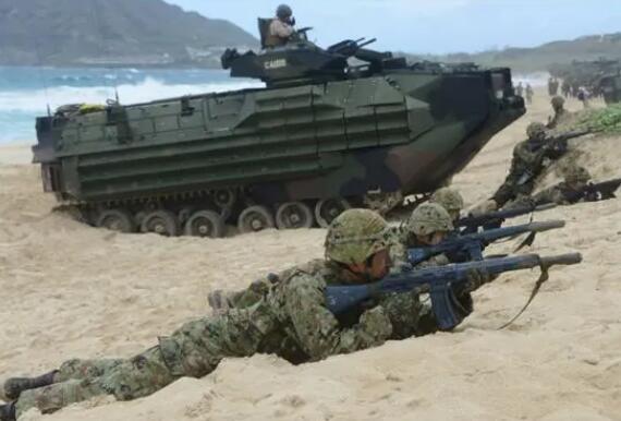 日本拉拢美法澳搞联合军演 锐评:欲借助美日同盟,试图突破和平宪法限制
