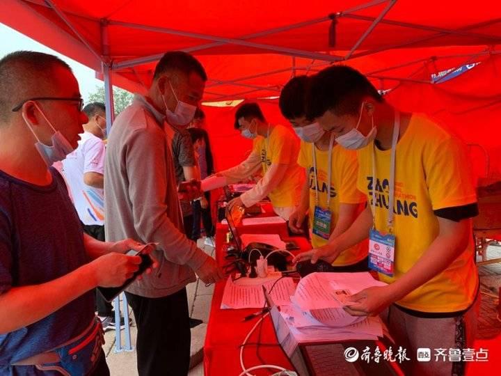 2021大运河(枣庄)马拉松全国选手齐聚台儿庄