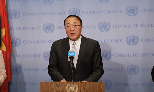中国、挪威、突尼斯常驻联合国代表就巴以冲突发表共同谈话 呼吁立即停止敌对行动