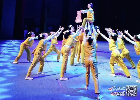 新余市五一路小学荣获全省少儿舞蹈大赛金奖(图)