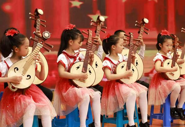 让江南丝竹走进更多长三角中小学,这个联盟成立两年又迎14所学校加入