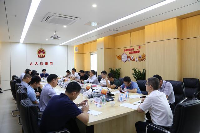 深圳大鹏人大工委组织召开代表议事会,共议锣鼓山公园建设等重点工作