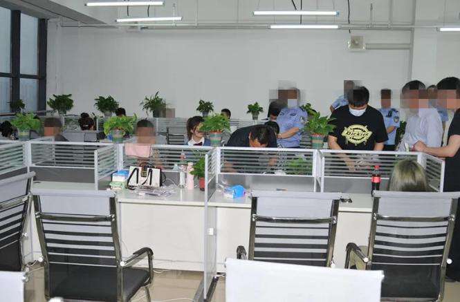 金寨警方打掉一涉电信网络诈骗窝点 抓获23人