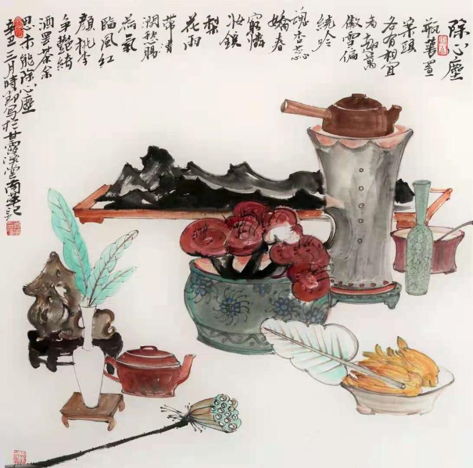 商革当代绘画学术展22日将在泰安市美术馆开幕