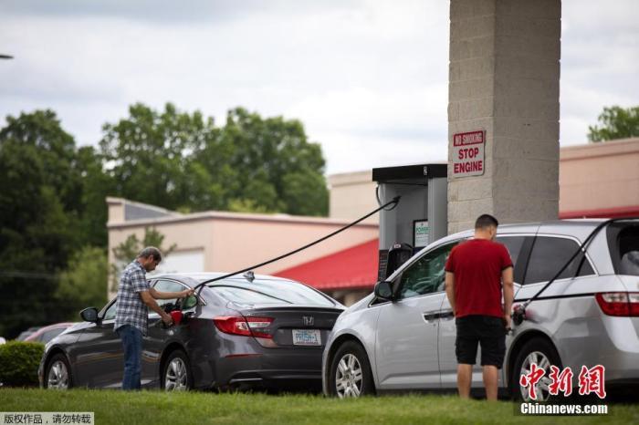 美国东部汽油短缺问题缓解 但部分加油站仍无油可加