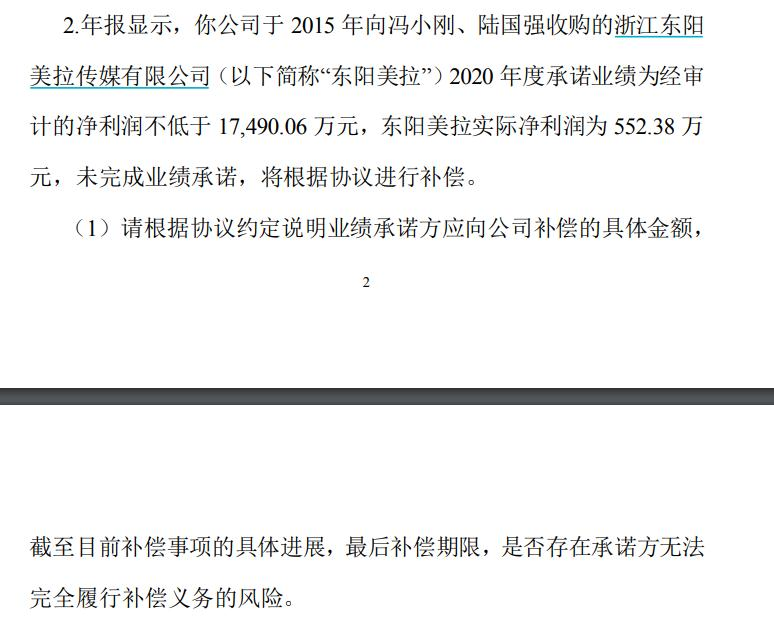 冯小刚要赔2.35亿?华谊兄弟被深交所质问:他到底赔多少?
