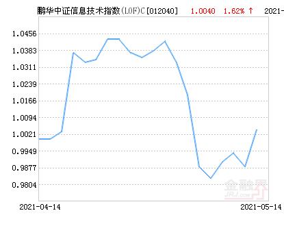 鹏华中证信息技术指数(LOF)C净值上涨1.62% 请保持关注