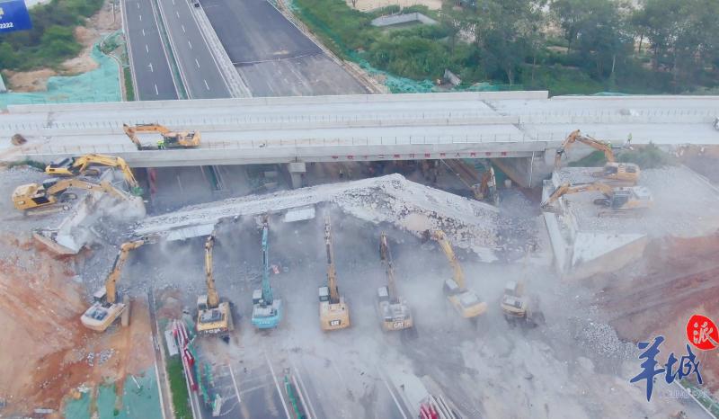 全线28座跨线桥拆架完工!阳茂高速改扩建预计年底建成通车