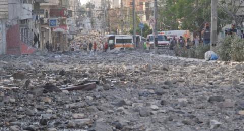 加沙唯一新冠检测实验室被以色列轰炸 已无法运转