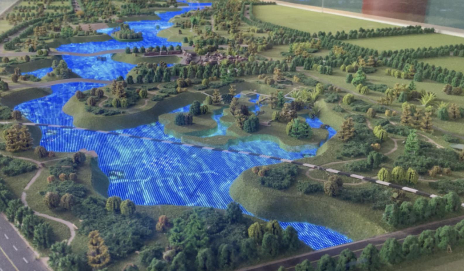 新华视点|网红景区背后的隐秘:引黄调蓄工程是如何变成人造景观的?