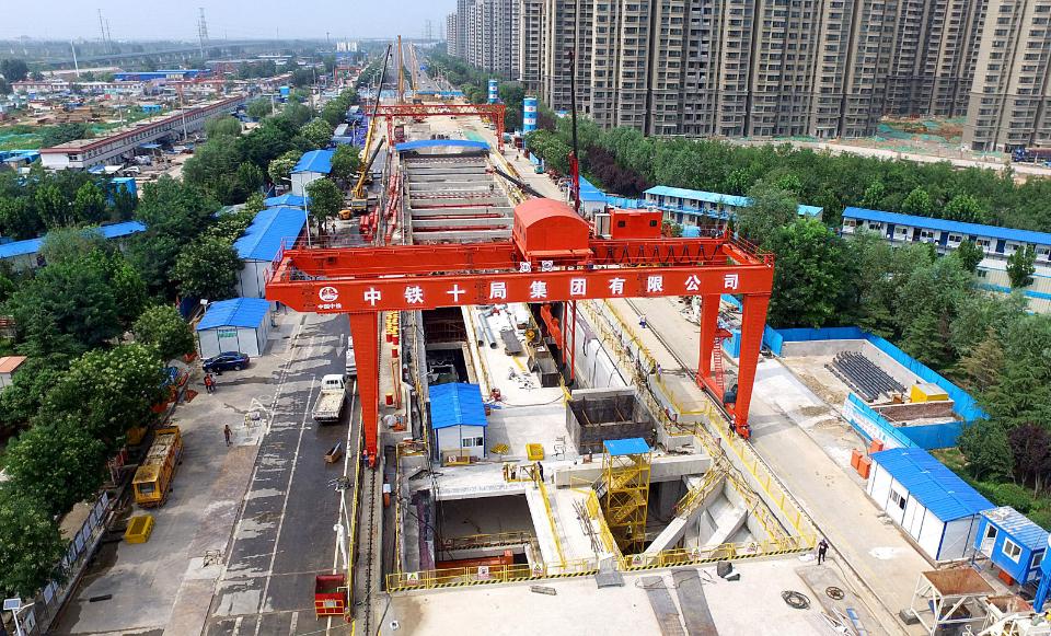 中铁十局一公司承建的济南地铁工程荣获詹天佑奖、国家优质工程奖
