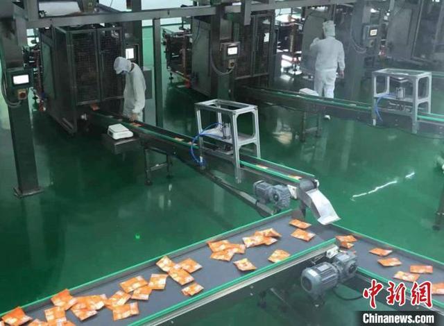 全球热销150亿包 重庆涪陵榨菜的智能化转型之路