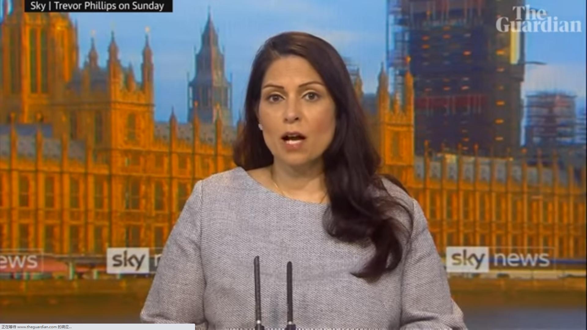 英国内政大臣:BBC声誉严重受损
