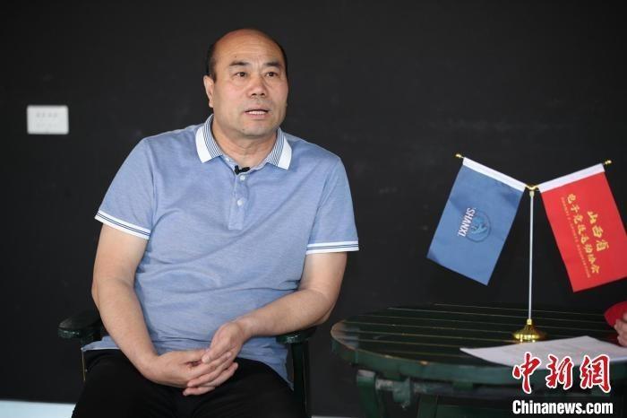 山西电子竞技运动协会会长梁林忠。 李睿 摄
