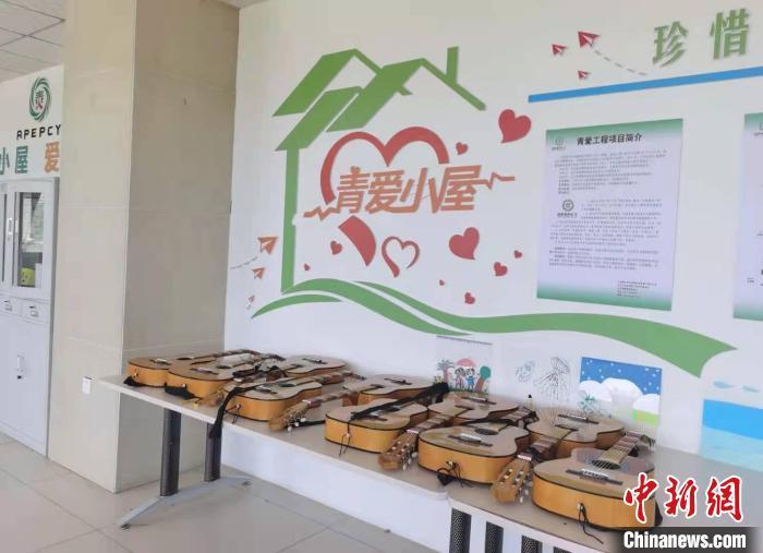 5月24日至6月1日期间,临汾红丝带学校开展艾滋病反歧视午餐日宣传周活动。 吴琼 摄