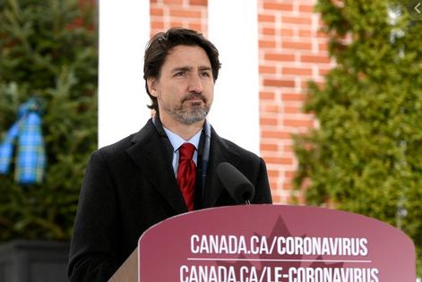 加拿大总理特鲁多:支持拜登新冠病毒溯源努力