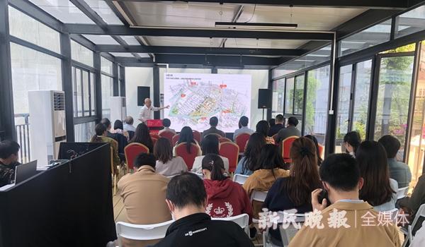"""普陀区苏州河东段岸线""""苏河之冠""""将打造世界级滨河地区开放空间"""