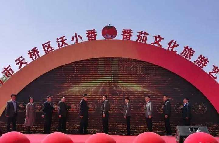 """济南天桥""""沃小番番茄文化旅游艺术节""""开幕"""