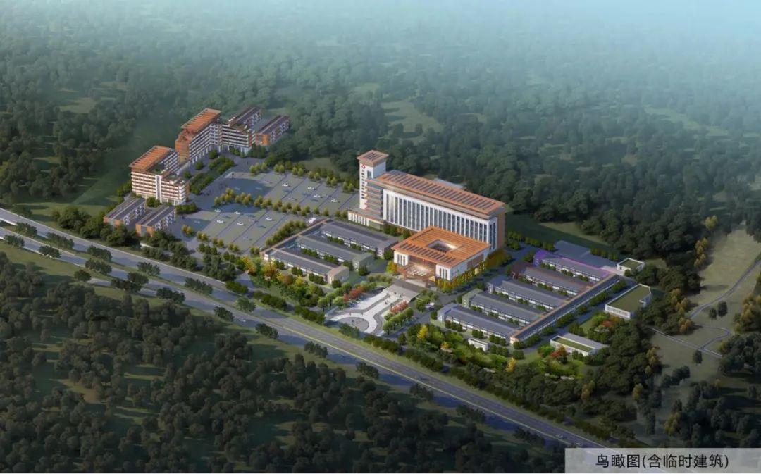 【看区县】万州三峡公共卫生应急医院有望年底投用图片