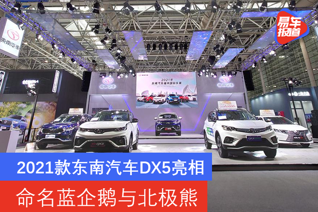 命名蓝企鹅与北极熊 2021款东南汽车DX5亮相