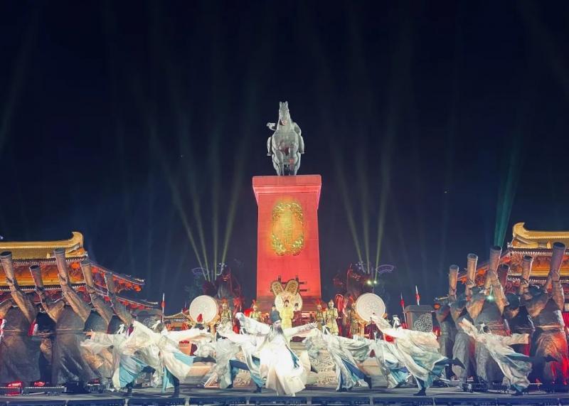 """升级版的贞观之治文化展演 """"五一""""黄金周在西安大唐不夜城全新上线"""