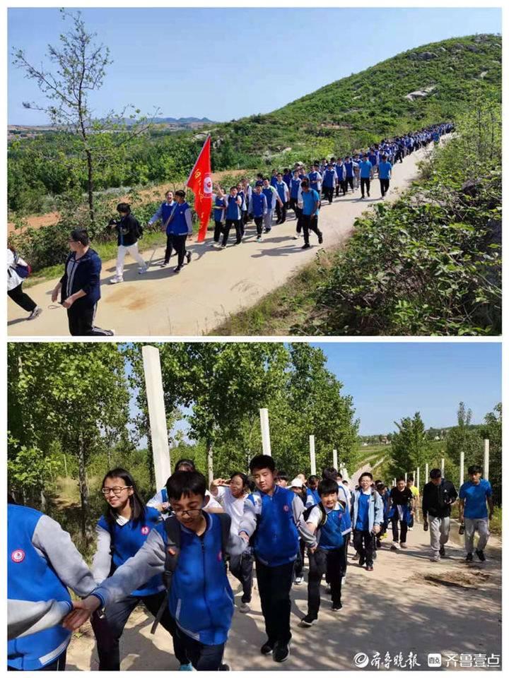 脚步丈量大地,看阳信县实验中学的快乐研学