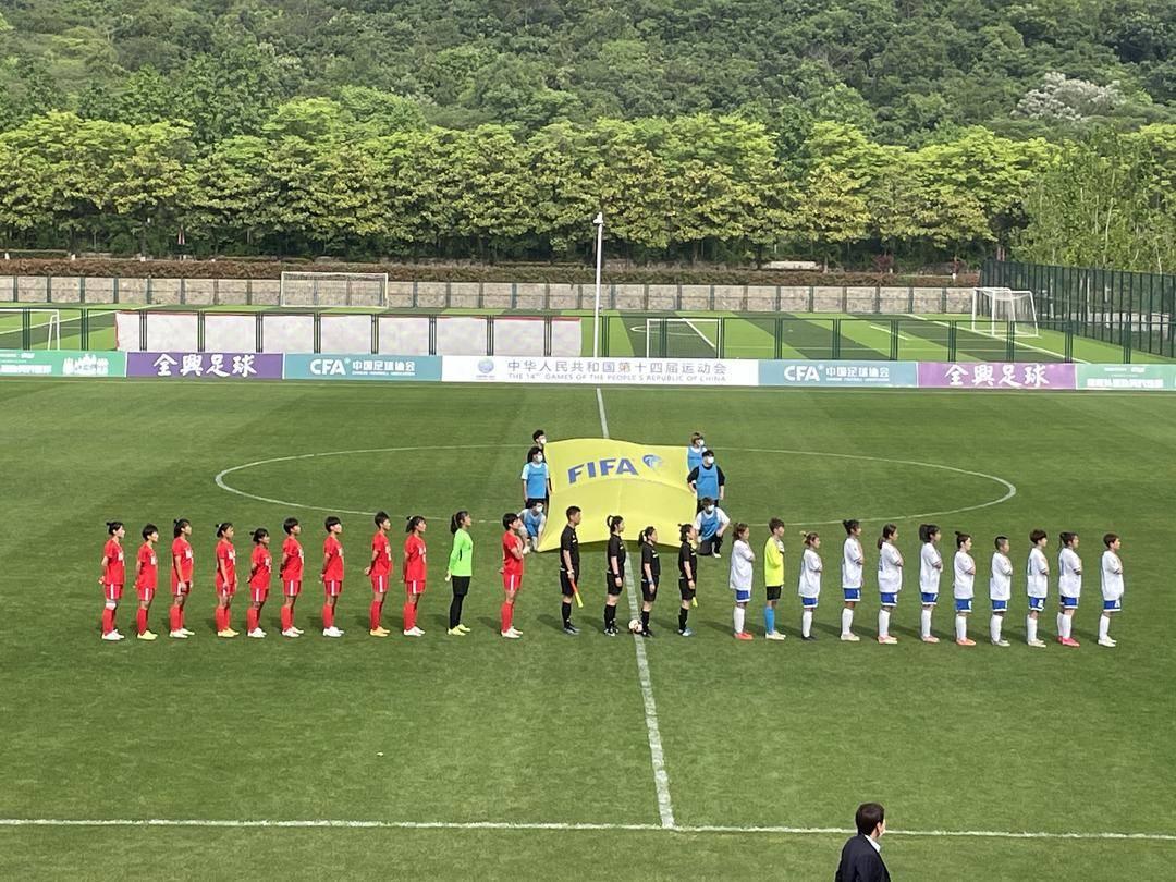 全运会女足U18资格赛首轮四场比赛在江苏省江宁足球基地同时打响!