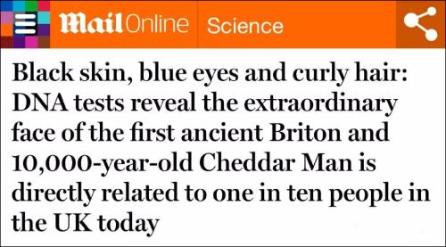 英国人的祖先是黑人?BBC又在英国闯祸了......